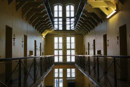 Prison cells.