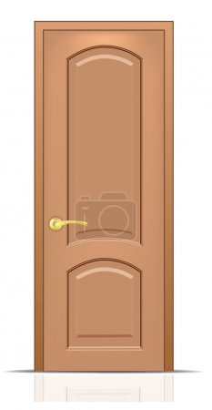 Illustration for Vector door. To see more great vectors go to my portfolio... - Royalty Free Image