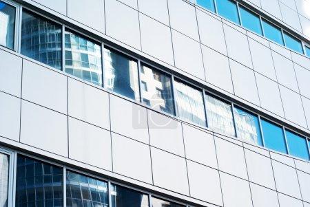 façade de l'immeuble moderne