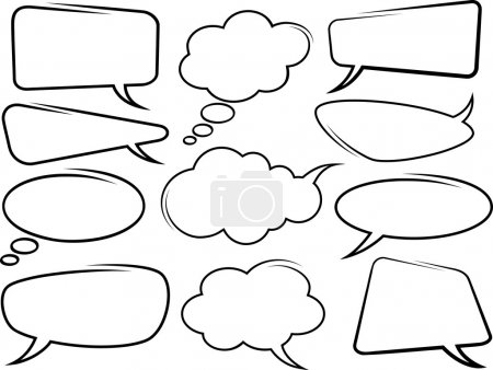 Photo for Speech bubbles - Royalty Free Image
