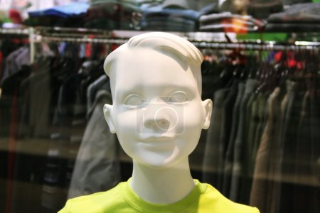 Dummy with a smile