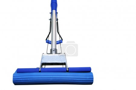Dark blue mop