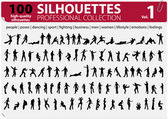 100 Silhouettes Collection Vol 1