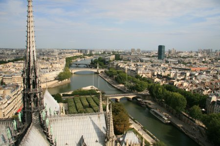Cityscape of Paris and Seine