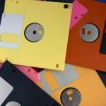 Magnetic floppy disk