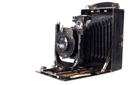 Retro camera isolated on white