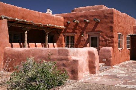 Adobe house, pueblo