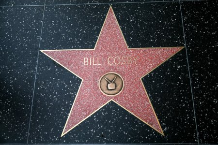 Photo for Bill Cosby star on the Hollywood Walk of Fame - Royalty Free Image