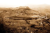 Old Italy ,Sicily, Enna city