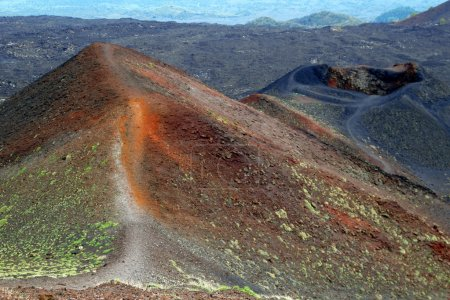Vulkan Ätna auf Sizilien, Italien