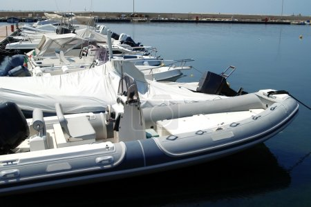 Yacht at Sicily coast, Italy