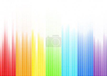 Illustration for Vector abstract bright background; clip-art - Royalty Free Image