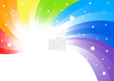 Vector abstract background in bright col