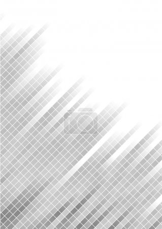Vector abstract silver background with s