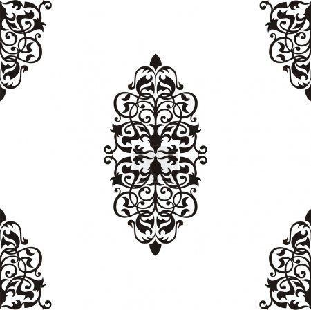 Illustration for Seamless pattern - Royalty Free Image