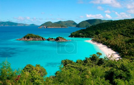 Trunk Bay on the island of St John