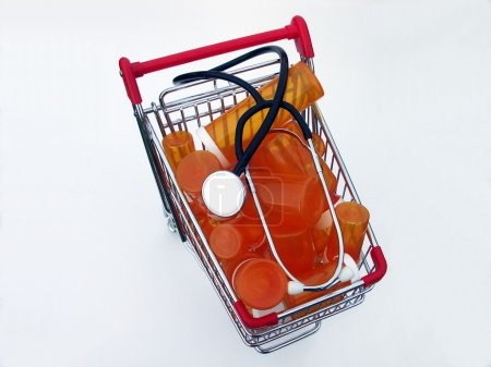 Shopping for health care (top view)