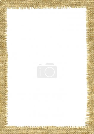 Sackcloth frame page.