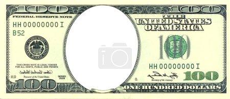 Crisis banknote frame.