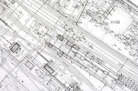 Konstruktions- und Projektzeichnungen.