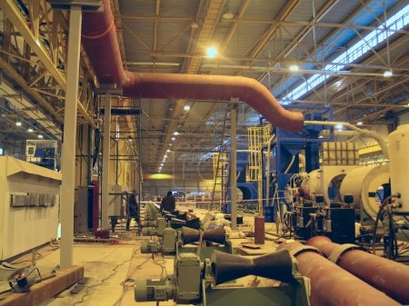 Breech rolling on ferrous metallurgy