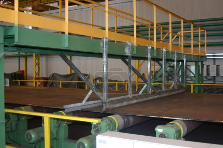 Rolled sheet production on ferrous metal