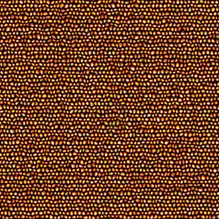 Photo pour Texture 3D sans couture de pierres de galets brillantes dans des couleurs chaudes - image libre de droit