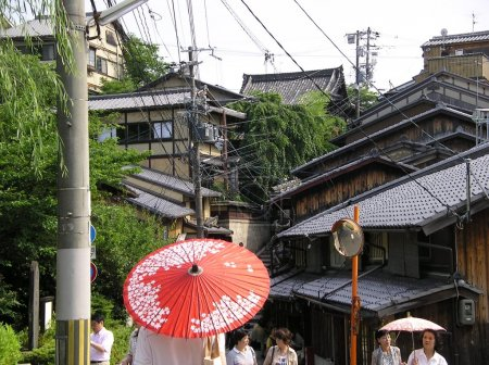 Japanese old roofs