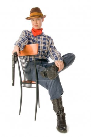 Sitting cowgirl 3