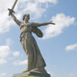Monument Motherland calls by Vuchetich in Volgogra...