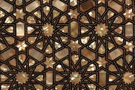 Photo pour L'ornement oriental brun comme fond, Egypte - image libre de droit