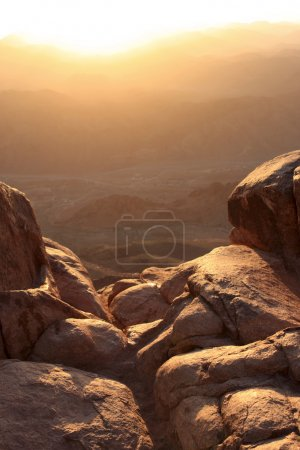 Mt Sinai at sunrise