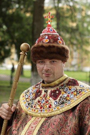 Tourist in tsar