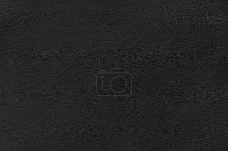 Photo pour Fond en cuir noir - image libre de droit