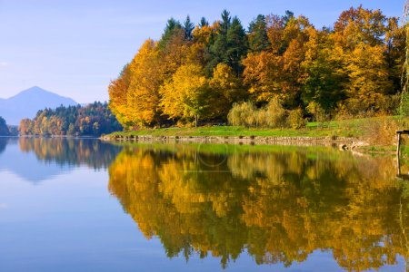 Photo for Autumn Reflection - Royalty Free Image