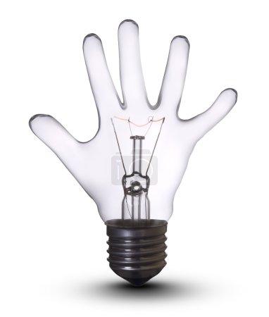 Hand lamp bulb