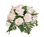 bouquet de rose rose