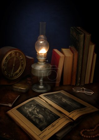 Photo for The antique book - Royalty Free Image