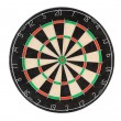 Dart board isolated on white...