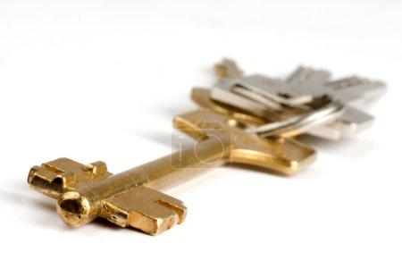 Photo for Keys on white background - Royalty Free Image