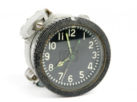 Old mechanical airborne clock