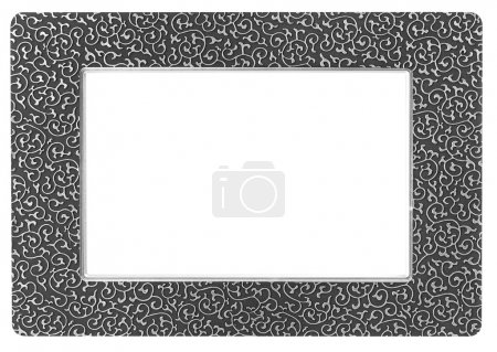 Photo for Photo frame isolated on a white - Royalty Free Image