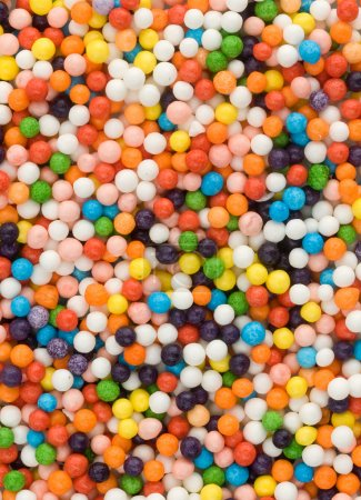 Photo for Closeup colorful sweets. Can use as background - Royalty Free Image