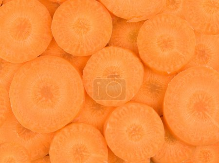 Photo for Background of fresh carrot - Royalty Free Image