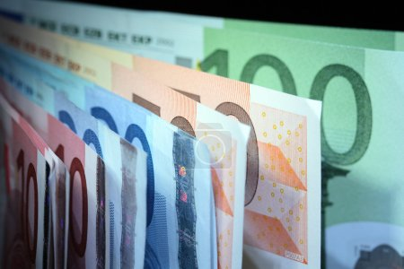 European Union Currency Background