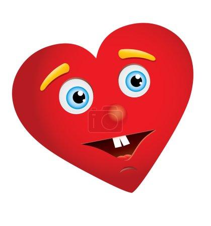 Heart man face2
