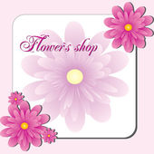Pink Flower shop