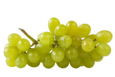 Close-up of a bunch of grapes (path isol