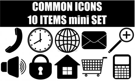 Common icons