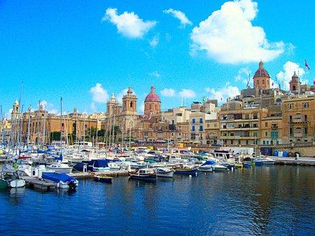 Valetta harbor view, Capital of Malta island